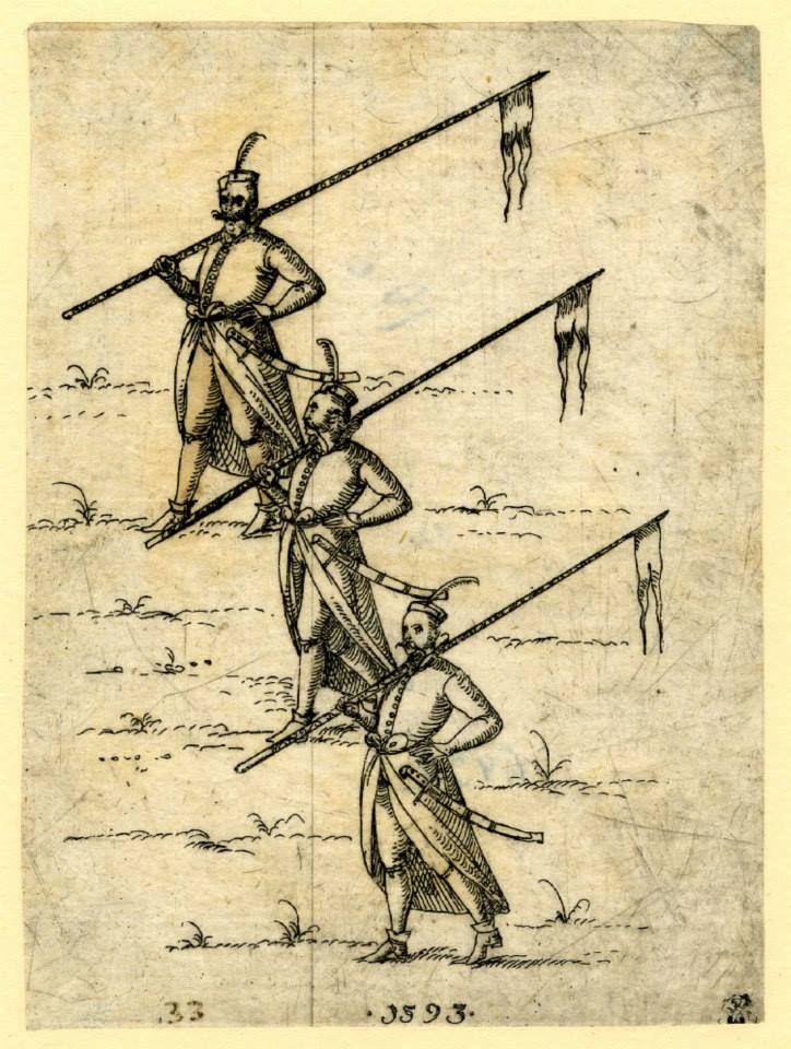 Hajducy (dziesięnicy) przełom XVI/XVII wieku