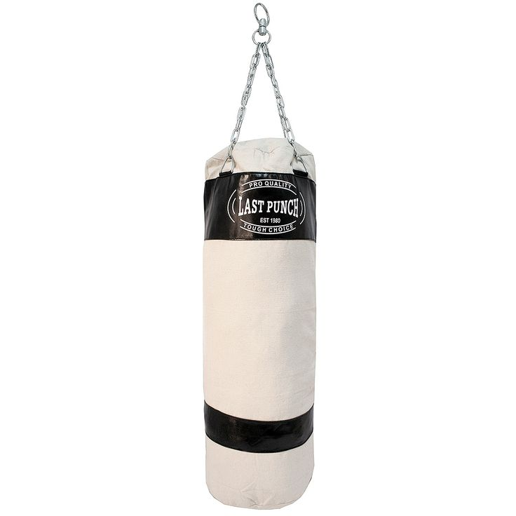 We are glad to introduce our new model of Canvas punching bag that will last you a long time. The canvas punching bag is heavy duty made and will not give up on you that easily. This bag comes complete with a chain to hang anywhere you desire.