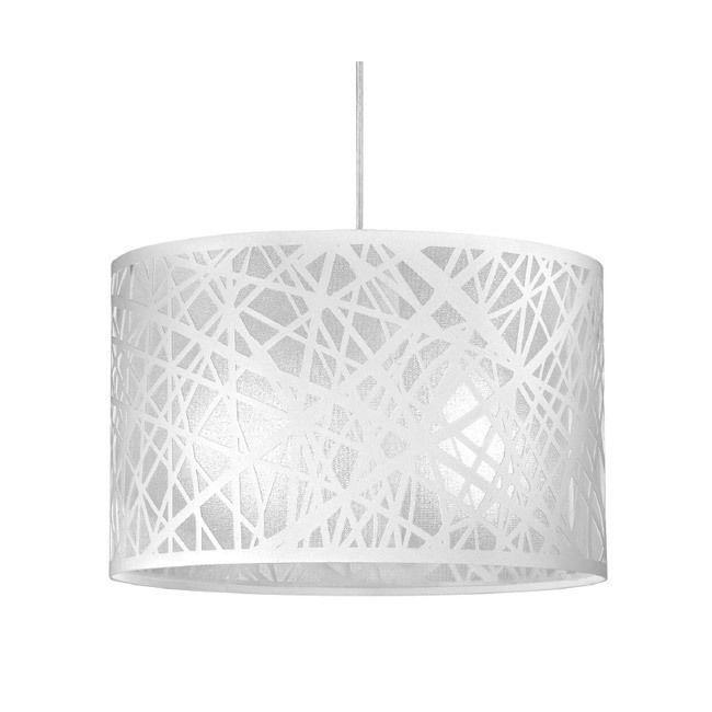 sospensione in metallo design moderno lampadario da cucina bianco p17771
