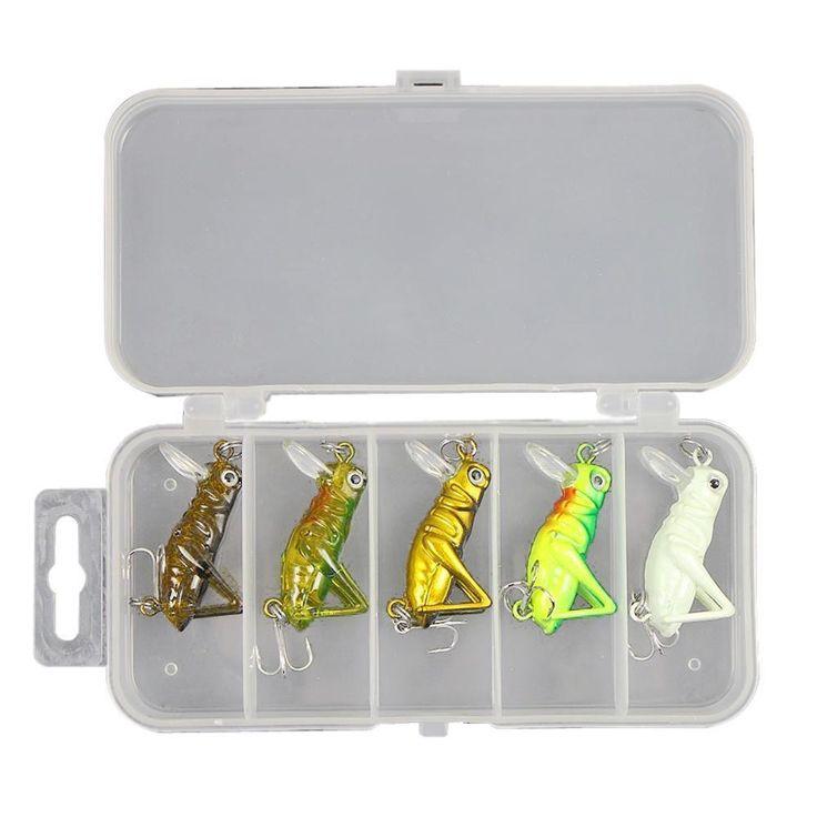 Flying Grasshopper Lures (5 PCS / Box)