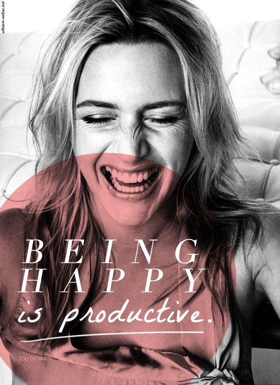 Being #happy is productive! #beautiful #thoughts