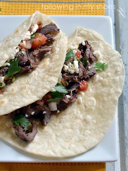 Grilled Steak Tacos | Yummy Food | Pinterest