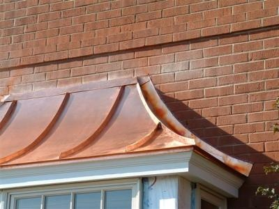 Love This Bay Window Copper Roof Design Pinterest