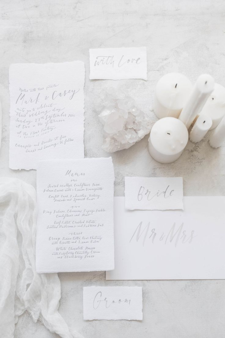 White Washed... Bohemian Stationery Reimagined / Design by The Little Press / Styling The LANE