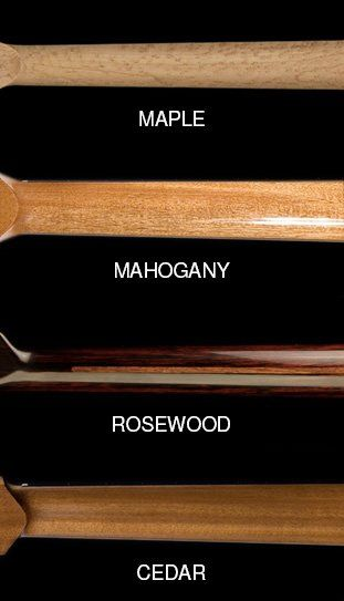 a MOST POPULAR RE-PIN: Compare standard woods for guitar neck - photo from famous Mangore custom built guitars site shows what these choices would look like: Maple, mahogany, rosewood, cedar. #RESEARCH DdO:) - https://www.pinterest.com/DianaDeeOsborne/ddo-most-popular-re-pins/ - INSTRUMENTS FOR JOY. Bellucci Guitars and Mangore Guitar Academy were founded by Maestro Bellucci in 1997. These World famous concert guitars by Italian luthiers cost $8,000 to $30,000 USD in the U.S. and Europe.