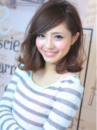 大人 ナチュラル 黒髪 ミディアム 斜めバング - Yahoo!検索(画像)