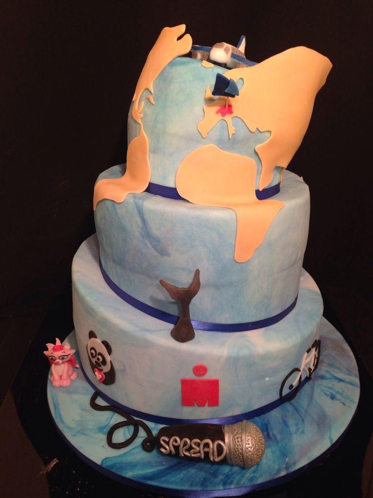 World wedding cake