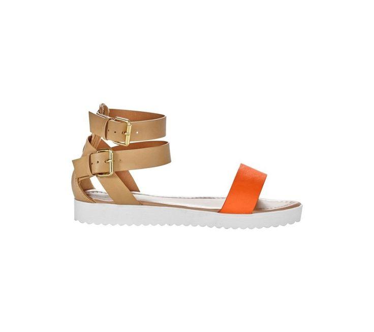 Dvojfarebné sandále | blancheporte.sk #blancheporte #blancheporteSK #blancheporte_sk #sandals #shoes #topanky