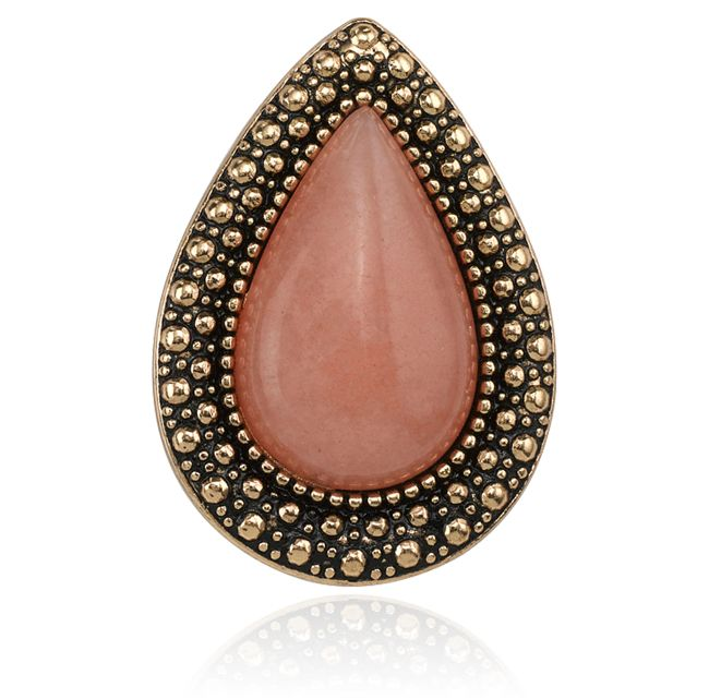 SW BOHEMIAN BARDOT RING, DUSTY PINK