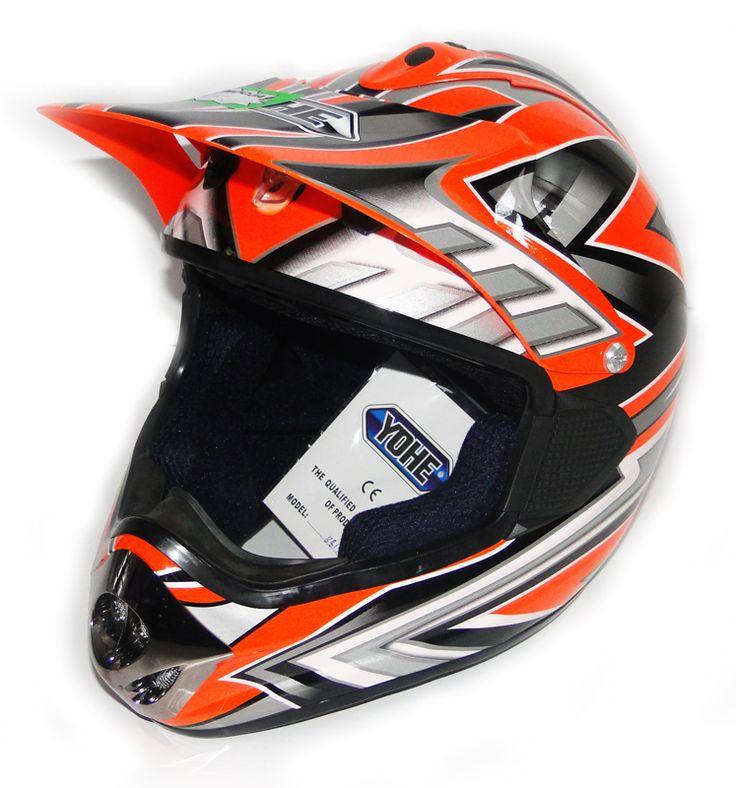 YOHE B815 orange silver L przód motorowex.pl