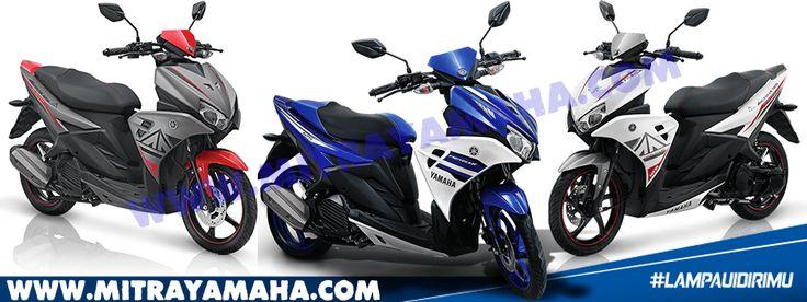 Dealer Resmi Yamaha – Harga Cash dan Kredit Motor Yamaha Aerox 125 LC untuk wilayah Jakarta, Tangerang, Depok, Bekasi dan Bogor. Info spesifikasi dan fitur terbaru