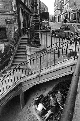 Willy Ronis, Les Gamins de Belleville, Paris, 1959