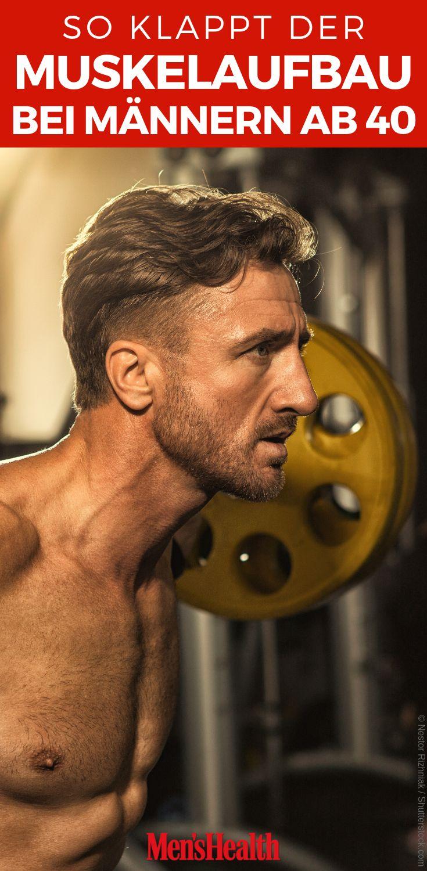Muskelaufbau bei Männern ab 40