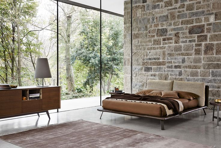 What a cozy bed!  It's our new Kanaha!  #ditreitalia #newproducts #bed #design #cozy