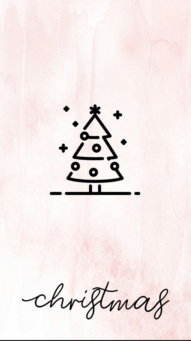 Christmas Icon For Instagram Highlights.Instagram Story Template Pink Lnstagram Highlight Cover