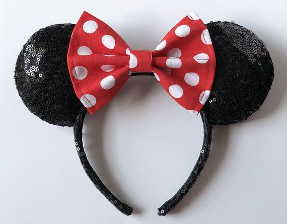 Mickey Mouse Comic w White Mermaid Bow Mouse Ears