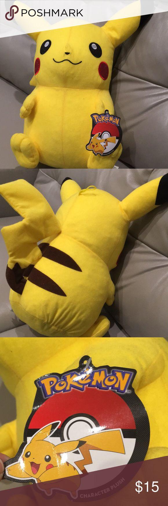 Pokémon Pikachu Character Plush Yellow Stuffed Pokémon Character Pokemon Other