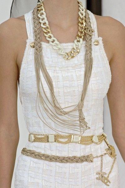 Chanel Fashion Show Detail