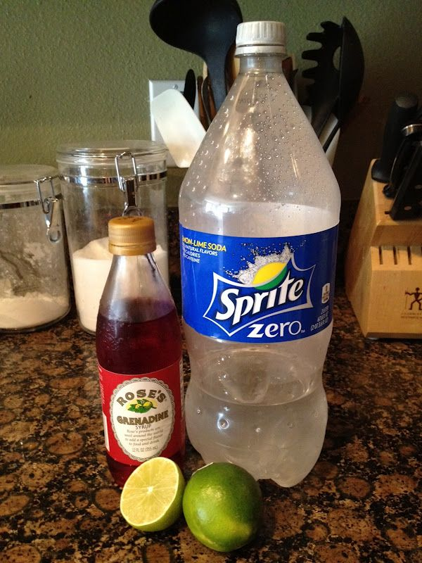 Sonic Diet Cherry Limeade Dupe Recipe. Tastes EXACTLY the same.