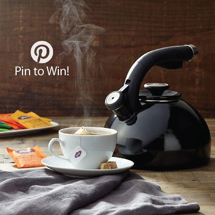 PIN TO WIN: Circulon® Morning Bird Teakettle, Black {Giveaway Ends 9/28/14}