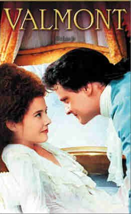"""Feeling indulgent and intrigued: Watch """"Valmont"""". A great period piece with elaborate sets, costumes and music. A young uncharacteristically deviant Colin Firth and a beautiful Meg Tilly. pair with: champagne, a rotisserie chicken, and roasted vegetables"""