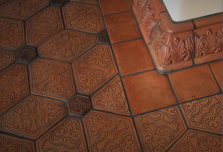 Handmade Decorative Terra Cotta Tile From Mediterra Tile