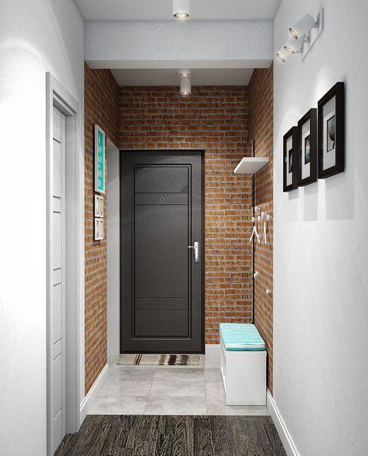 Дизайн интерьера квартиры в Жилом доме «Киевский» (Владоград). Коридор; Холл
