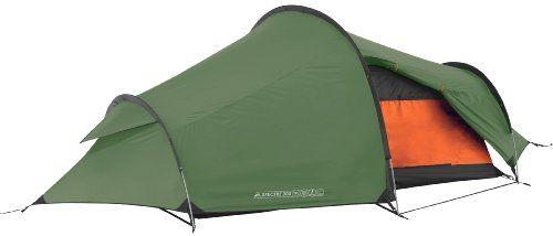 Vango Sabre 200 Two Man Tent- 2 Person – Tiendas de campaña de túnel, color verde