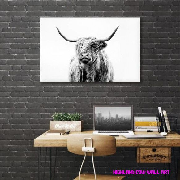 24 Unbelievable Facts About Highland Cow Wall Art Highland Cow Wall Art Cow Art Print Cow Wall Art Cow Canvas