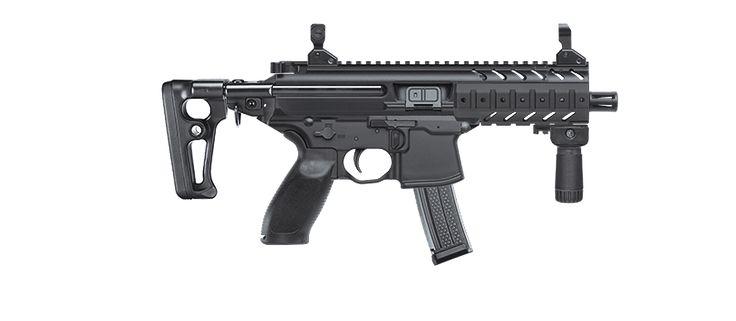 Groundbreaking Tactical Rifle | SIG MCX | SIG SAUER - This will be my first and last AR, set up as a SBR, chambered in .300 BLK, with suppressor and folding telescopic stock. Wow!