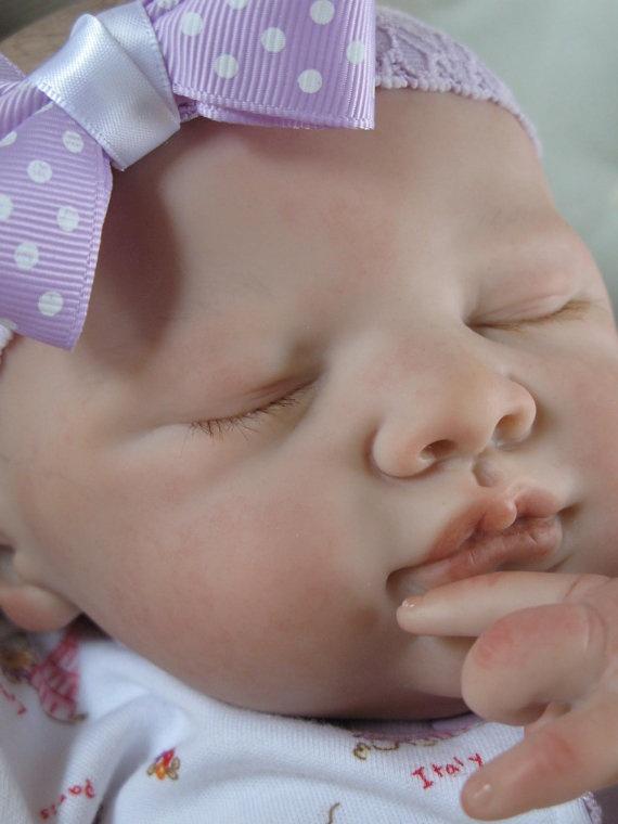 Reborn baby girl heirloom doll Kate kit by by simplysweetbundles, Etsy