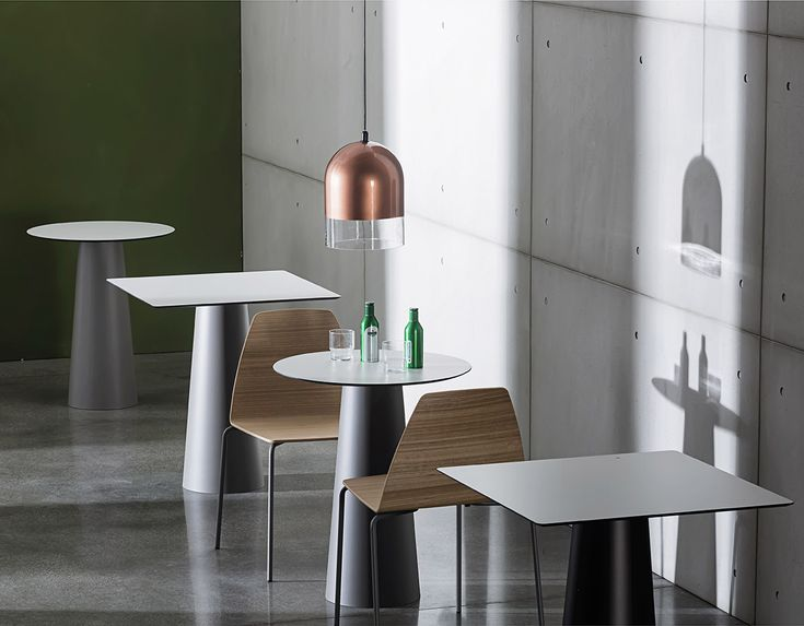 The minimal and functional shapes of TOTEM table fit in different contract spaces thanks to the wide selection of measures and materials for the top. Discover the complete collection: https://www.sovet.com/en/tables/totem  #Sovetitalia #design #interiordesign #architecture #archilovers #designlovers