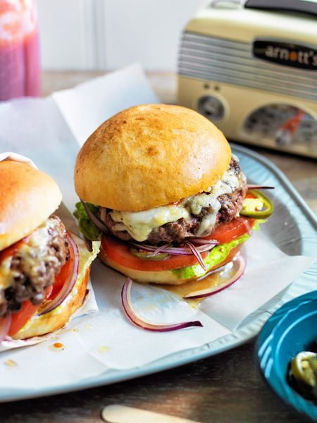 Homemade Cheeseburger - so yummy!