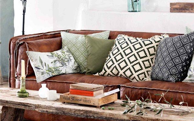 Redecora tu casa combinando cojines de diferentes estampados #cojines #pillows #homedecor #decoración #decoracióndelhogar #accesorioshogar #elrincóndemoda #erdm