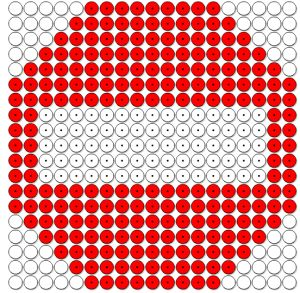 Thema verkeer kralenplank verkeersbord via www.juf-lisanne.nl