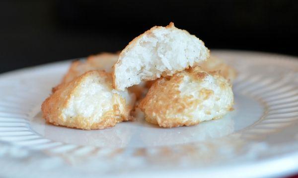 Saftige kokosmakroner (Bakekona)
