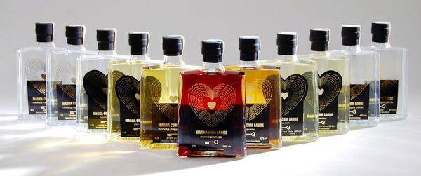 Magna Cum Laude PALINKA alcohol package design on Behance