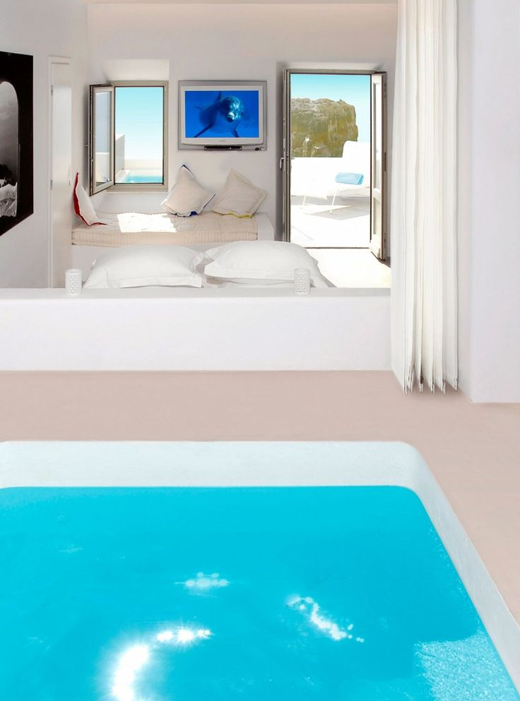 Grace Santorini Hotel by Divercity and mplusm Architects | HomeDSGN, a daily source for inspiration and fresh ideas on interior design and home decoration.