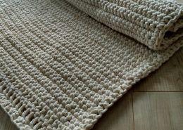Szydełkowy dywan - jak zrobić