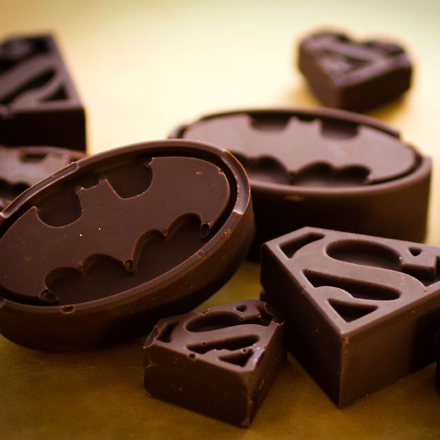 Batman / Superman Chocolate or Ice Mold