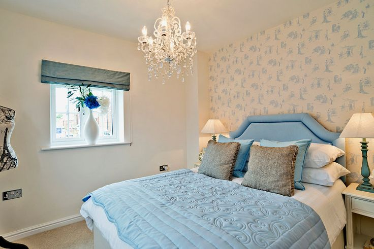 This gorgeous bedroom is from our show home in Dargavel Village http://bit.ly/1ncXvG2