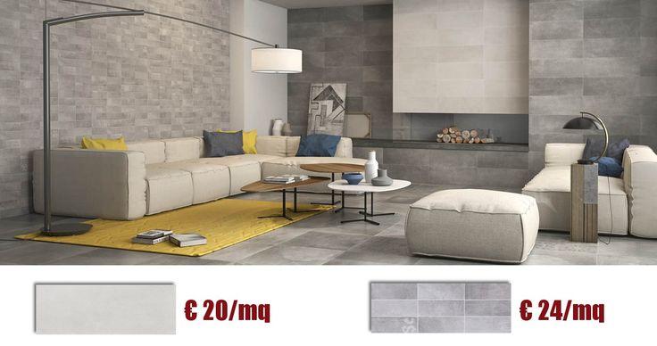 Completa la tua #casa con i #rivestimenti effetto #cemento in offerta: il #design a prezzi incredibili!