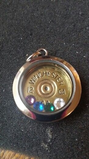 Shotgun shell locket http://shotsfired.storenvy.com/