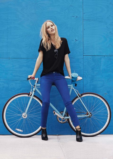 There's A Bike In It: Rebecca Minkoff DENIM collection | Shared from http://hikebike.net