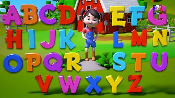 La chanson de l'alphabet | Apprenez anglais alphabets | alphabets chanso...La chanson de l'alphabet | Apprenez anglais #alphabets | alphabets chanson | #ABCSong in French #FarmeesFrancaise #Enfants #préscolaire #éducatif #parenting #kidsvideos #chansonsfrancaises #kindergarten #kidslearning #frenchsong #phonicssong #learnalphabets