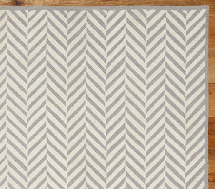 Decor Look Alikes | Pottery Barn Kids Herringbone Rug $399   $699 Vs $195    $367