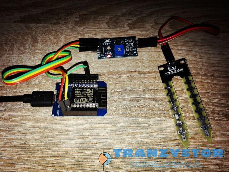 ESP8266 domoticz Moisture sensor