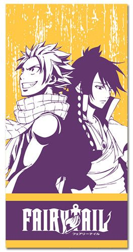 Fairy Tail Natsu & Zeref Towel Take your favorite anime brothers on any summer outing with this awesome Fairy Tail Natsu & Zeref Towel. Use this beautiful cotton towel to dry off from a day at the poo