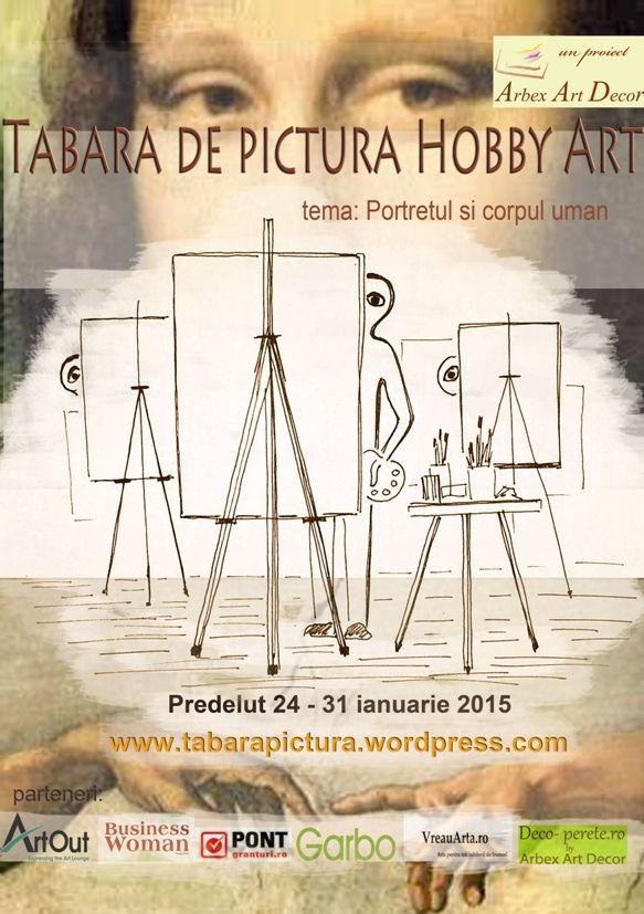 Tabara de pictura Hobby Art pentru adulti cu instructor - 121.ro