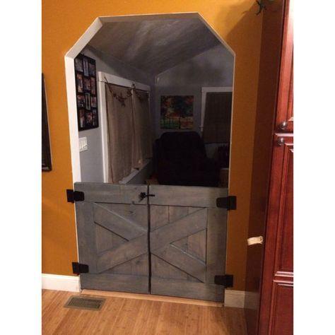 1000 ideas about custom dog gates on pinterest dog gates solid oak and baby gates. Black Bedroom Furniture Sets. Home Design Ideas